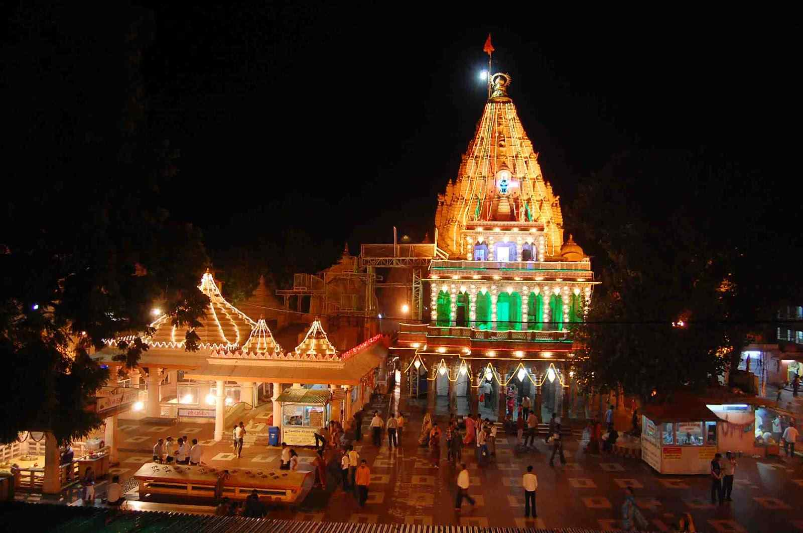 Mahalkaleshwar Temple Night